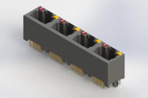 J2W048821N24031 - Modular Jack Connector
