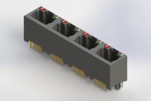 J2W048821N26031 - Modular Jack Connector