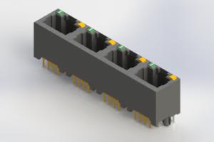 J2W048821N34031 - Modular Jack Connector