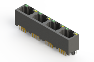 J2W048821N35031 - Modular Jack Connector