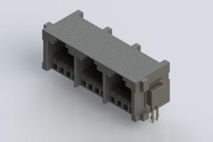 100 pieces Modular Connectors Ethernet Connectors Vertical Green//Yel