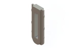 341-240-317 - EDAC Card Edge Connector Polarizing Key
